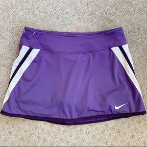 Purple Nike DriFit Tennis / Golf Skort (MEDIUM)